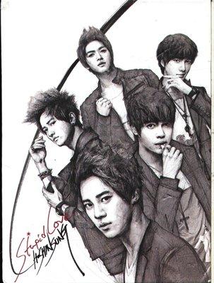 K - 超新星 - 超新星 1st Single - Stupid Love - 韓版 CD