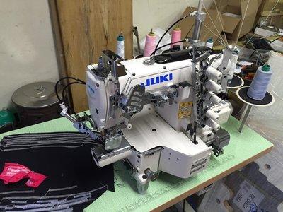 JUKI MF7200 細筒型 三本車 繃縫 工業用 縫紉機 自動切線 直驅馬達 新輝針車有限公司