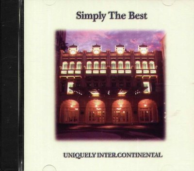 K - INTER CONTINENTAL SINGAPORE UNIQUELY SIMPLY THE BEST NEW