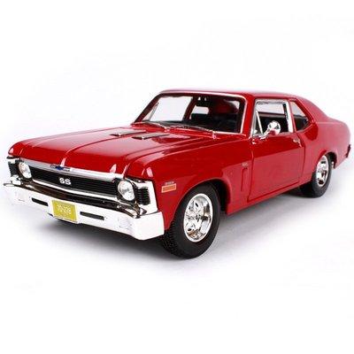 1970 雪佛蘭 Nova SS 復古肌肉車 紅色 FF4431132 1:18 合金車 預購 阿米格Amigo