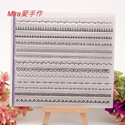 TM6052透明水晶印章~【Mira愛手作】蝶古巴特 decoupage 拼貼 DIY 手作 材料