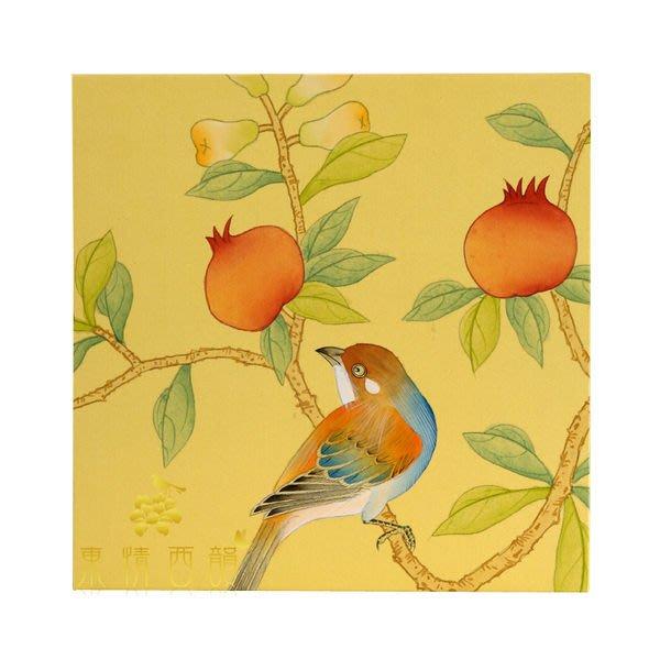 【芮洛蔓 La Romance】東情西韻系列手繪迷你絹絲畫飾 Q / 畫飾 / 掛畫 / 掛飾