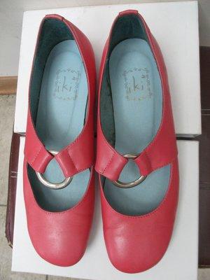 Iki2    扣環  平底鞋  娃娃鞋  鞋底26公分 台北市
