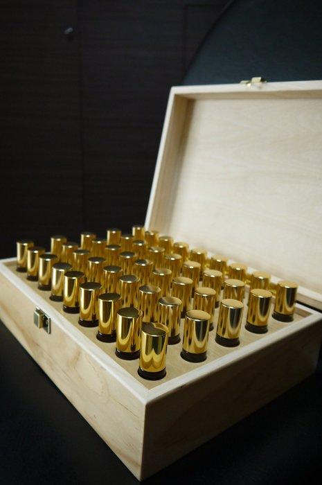 老師傅手工製 松木精油木盒(10ml*45格) (非檜木聚寶盆、檜木盒、肖楠、牛樟、崖柏、黃檜)~出清價