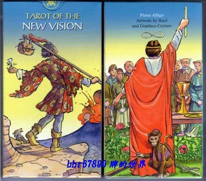 【牌的世界】反偉特(新視界)塔羅牌Tarot of the New Vision(付中文說明)