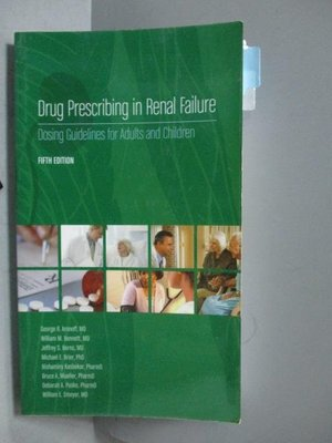【書寶二手書T8/大學理工醫_OGU】Drug Prescribing in Renal Failure-Dosing