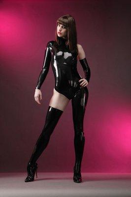 純天然乳膠衣可定做 性感款式