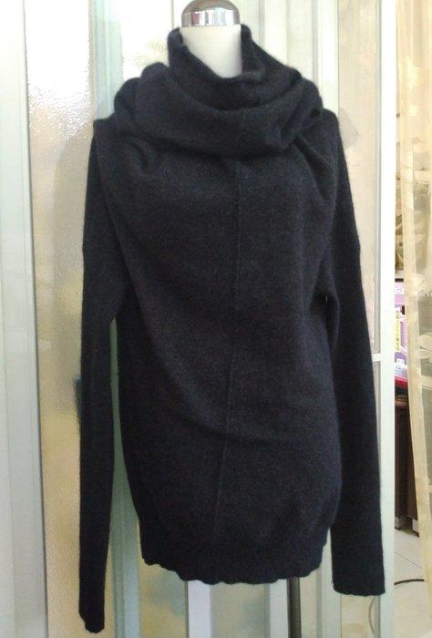 美國品牌 rlx ralph lauren 設計款長袖毛料上衣/洋裝
