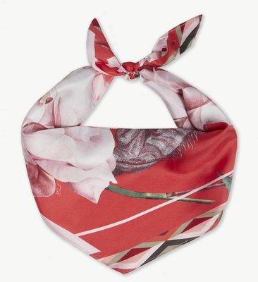 (預購)英國 TED BAKER Llydia silk diamond scarf 花卉絲巾
