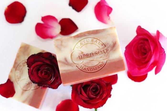 女王天然手工皂「玫瑰熊果素-美白淨妍皂」  手工香皂 手工肥皂 冷製手工皂