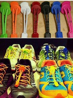 30色 含扣具 快扣鞋帶 懶人鞋帶 2xu adidas lock laces請參考