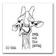 【萌古屋】刺蝟單圖CC-066 - 防水紋身貼紙刺青貼紙K37