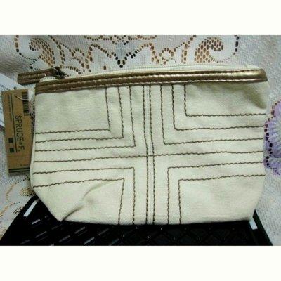 購於日本SPRUCE化妝包收納包原價日幣1050