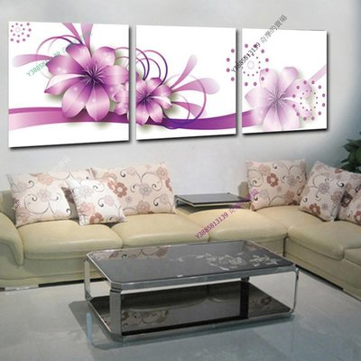 【70*70cm】【厚2.5cm】玉蘭花-無框畫裝飾畫版畫客廳簡約家居餐廳臥室牆壁【280101_124】(1套價格)