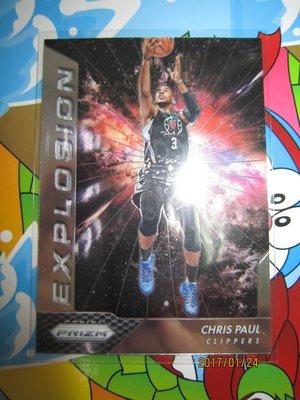 新賣家~16/17~EXPLOSION~Chris Paul~PRIZM~15 1元起標