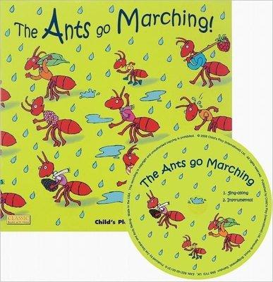 *小貝比的家*THE ANTS GO MARCHING ! /英文繪本+JYCD/3-6 歲