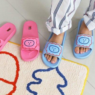 ♀高麗妹♀韓國 BRUNCH BROTHER Bath Slipper 早午餐兄弟 防滑浴室拖鞋/居家.情人拖鞋(預購)