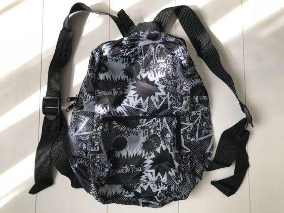 日本潮流雜誌附錄 Stussy Original rucksack帆布背包