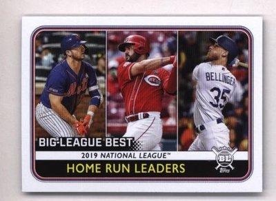 2020 Topps Big League #236 Pete Alonso Cody Bellinger Eugenio Suarez
