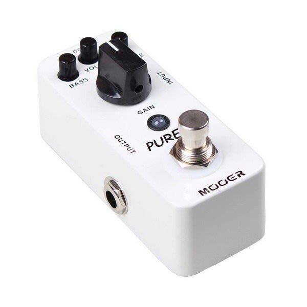 ☆ 唐尼樂器︵☆ Mooer Micro Series Pure Boost 迷你電吉他/電貝斯 Bass 增益效果器