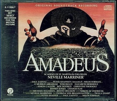 Amadeus: Original Soundtrack Recording 阿瑪迪斯 - 2CD 無IFPI