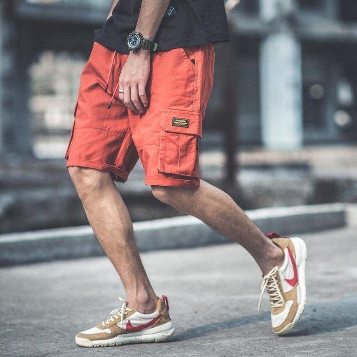 短褲 男士短褲五分褲夏天休閒迷彩褲子沙灘褲夏季寬鬆多口袋工裝褲男潮 全館免運精品鞋包