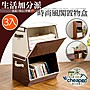 【居家cheaper】堆疊掀蓋式大容量收納斜布盒...