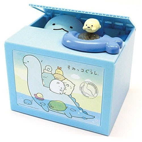 41+現貨不必等  Y拍最低價 日本限定  角落生物 偷錢箱 存錢筒 儲金箱 小費箱 角落小夥伴 小日尼三
