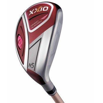萌時尚新款球桿-高爾夫球桿XX10 MP1100波爾多紅女士鐵木桿多功能小雞腿 混合桿