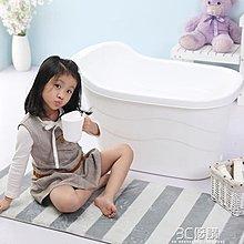 兒童可坐浴桶家用大號小孩保溫保暖泡澡桶中大童洗澡桶超大洗澡盆--奇異空間