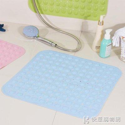 浴室防滑墊正方形pvc無味浴缸衛生間衛浴腳墊沐浴房洗澡防摔地墊 igo