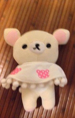全新現貨拉拉熊冬季披肩毛衣毛絨
