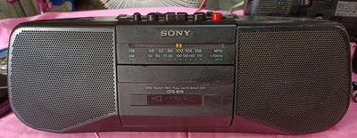 SONY 索尼CFS-B15 FM / AM立體聲收音機卡带錄音機