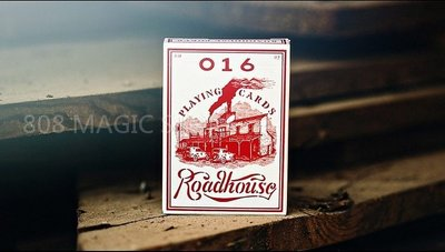 [808 MAGIC]魔術道具 ROADHOUSE RED PLAYING CARDS