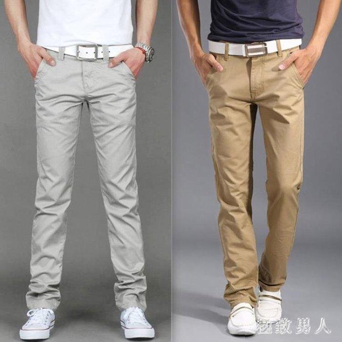 2018新款夏季男士直筒修身寬鬆薄款男生韓版百搭休閒長褲 HH3366