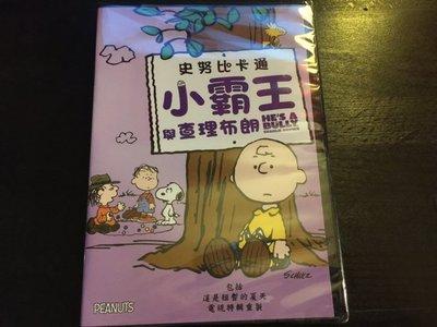 (全新未拆封)史努比卡通:小霸王與查理布朗 He's a Bully, Charlie Brown DVD(得利公司貨)