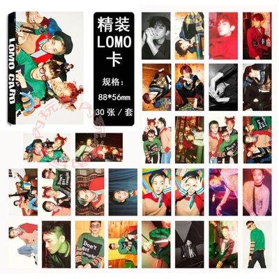 現貨盒裝 CBX Hey Mama LOMO新版小卡 照片寫真紙卡片組E622-C 【玩之內】伯賢 CHEN 秀珉 EX