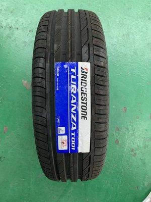 +超鑫輪胎鋁圈+Bridgestone 普利司通 TURANZA T001 195/65/15