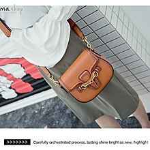 EmmaShop艾購物-正韓連線空運-復古馬鞍包/雙肩帶(大款)/單肩包/斜背包lv