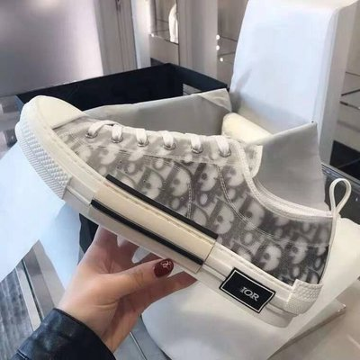 Dior B23 High Oblique Top Sneakers 透明印花 高筒 低筒 男女鞋