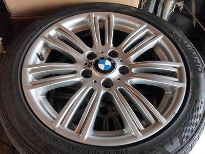 BMW F20 F22 原廠383M 17吋前後配鋁圈含胎.E36 E46