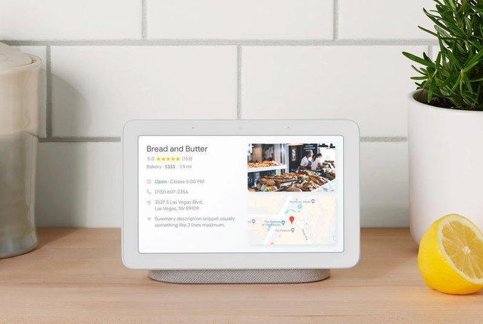 全新Google Home Hub 智能顯示器由Google智能助理