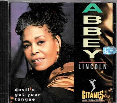 艾比林肯Abbey Lincoln / Devil's Got Your Tongue