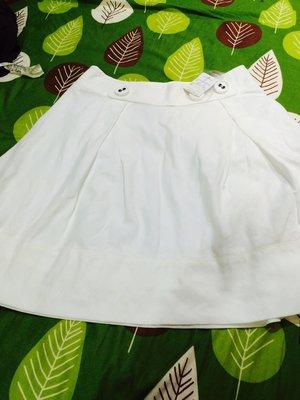 のBURBERRY BLUE LABEL 藍標38號 米白很夏天的小圓短裙