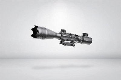 台南 武星級 4-12X50 三面魚骨 攻擊頭 狙擊鏡 (瞄準鏡 倍鏡 快瞄 紅外線 外紅點 內紅點 激光 快瞄 定標器
