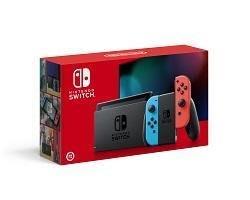 現貨原封*台灣公司貨Nintendo Switch主機 藍紅(2019)(電池持續時間加長)