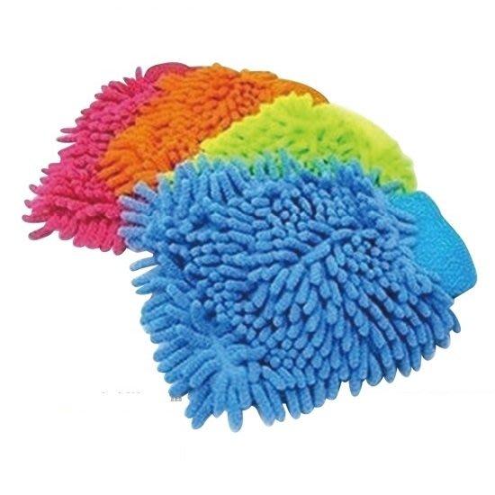 雪尼爾清潔手套 20*16CM 生活用品