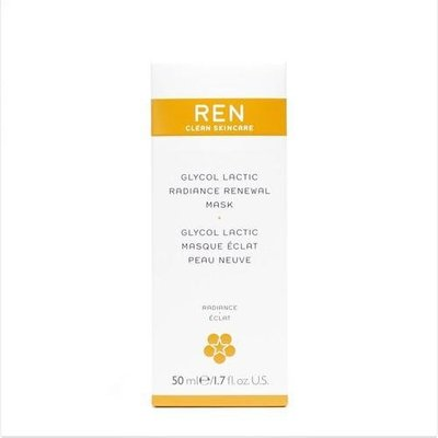 REN Glycol Lactic Radiance Renewal Mask 鮮果C亮采面膜 50ml