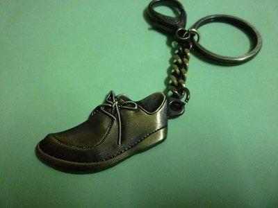 (休閒部屋)皮鞋造型鑰匙圈
