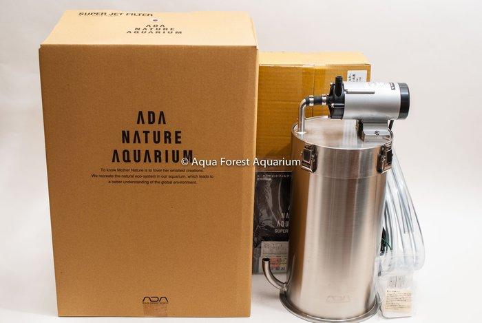 ◎ 水族之森 ◎ 日本 ADA 超強型不鏽鋼圓筒過濾器 Super Jet Filter ES-2400
